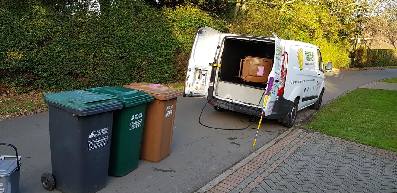 Prestige Bin Cleaning Van