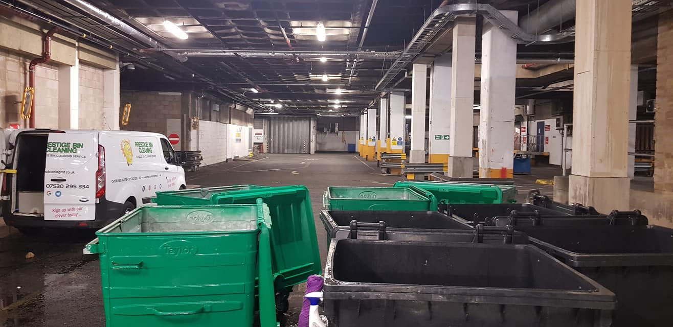 Bin Store Cleaning by Prestige Bin Cleaning